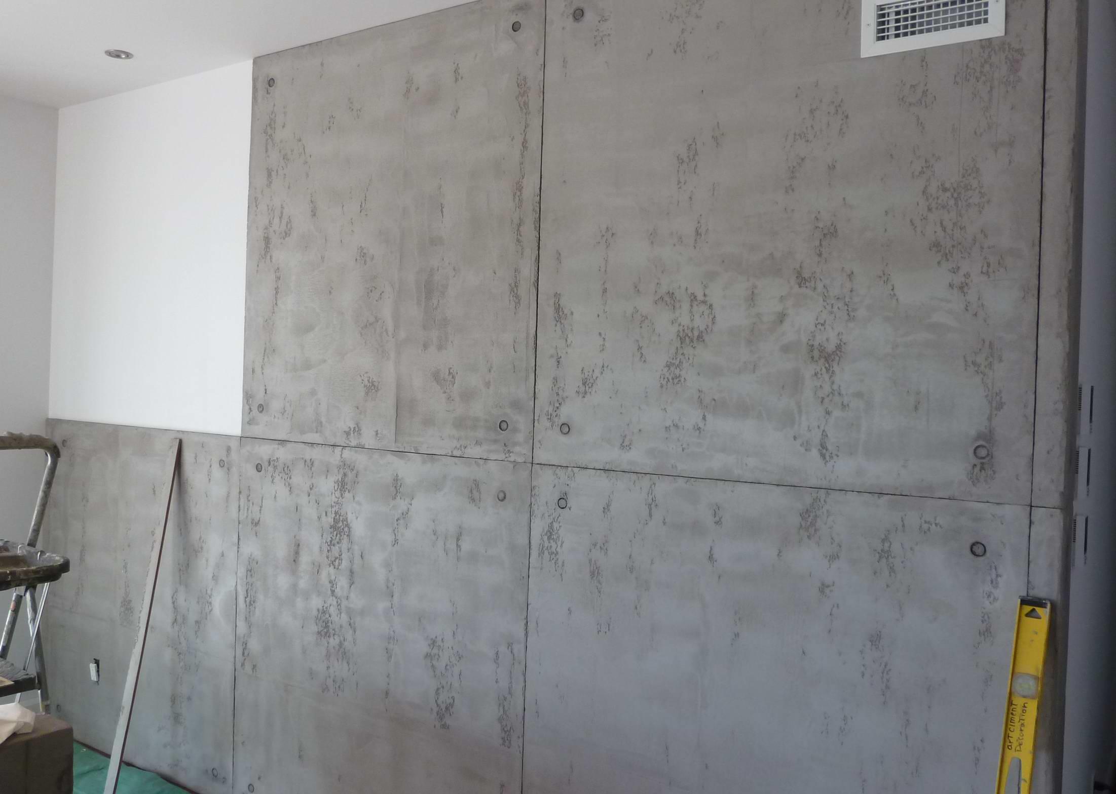 rev tement muraux art ciment d coration. Black Bedroom Furniture Sets. Home Design Ideas